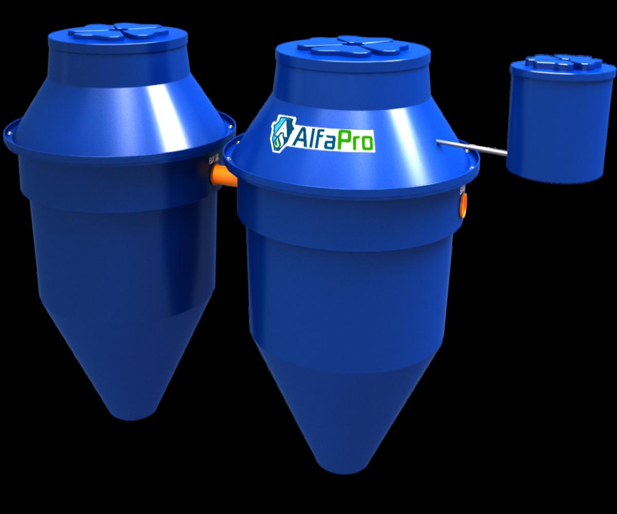 Автономная канализация (септик) Alfa Pro 2.4